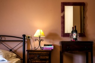 dimitra rooms bedside table