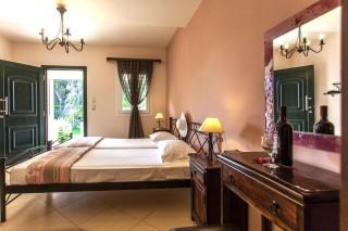 dimitra double rooms bedroom