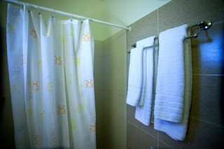 dimitra rooms bathroom maragas beach