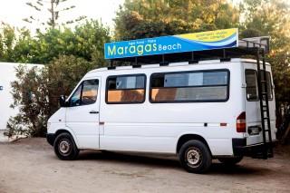 maragas beach transportation