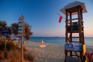 lifeguards in plaka beach