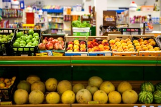 maragas beach supermarket fruits