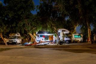 caravan maragas camping naxos