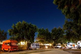 stars night maragas beach naxos