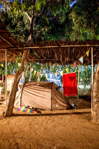camping decoration maragas beach