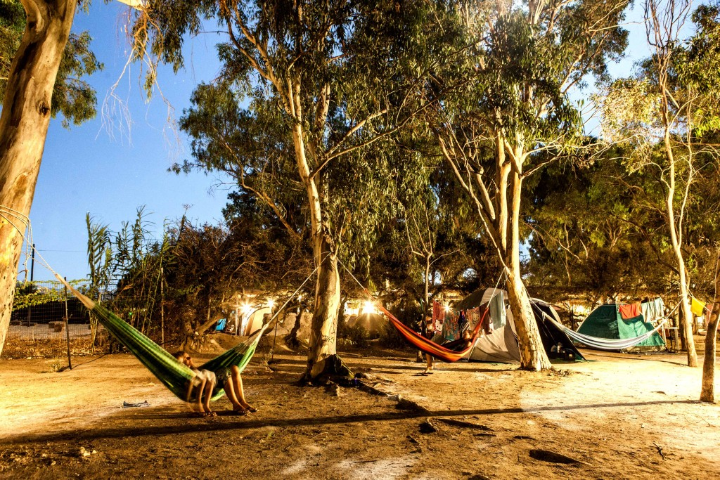 Our Camping In Plaka Agia Anna Maragas Beach