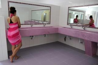 camping area maragas bathroom