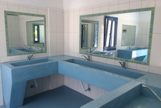 camping area maragas the bathroom