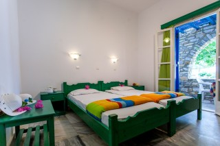 flora rooms bedroom maragas beach