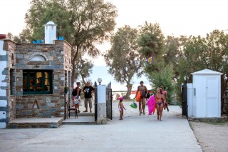 maragas beach sea naxos