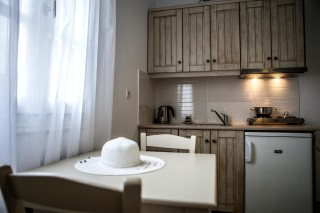 kitchen apartment maragas beach