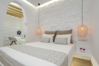 superior studio maragas cozy bedroom