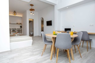 luxury apartment maragas camping kitchen