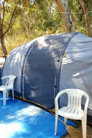 family tents maragas beach
