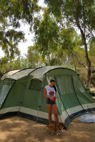 family tents maragas camping guests