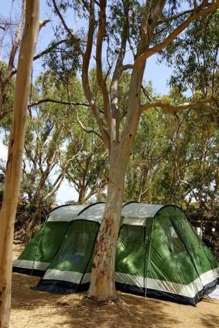 family tents maragas camping naxos
